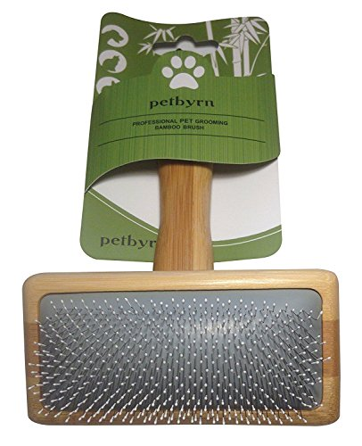Slicker Dog Cat Grooming Brush - NO.1 for Deshedding Detangling and Dematting Small, Medium and Large Short to Long Hair Pets. Cut Shedding, Massage and Stimulate Healthy Coats.