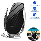 Johnbo-AU 2020 Upgraded Wireless Car Charger 15W Max Fast Charging Car Mount, Infrared