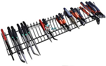 MLTOOLS | Pliers Organizer | Pliers Cutters Organizer | Rack Holder Storage | 30 inch Long Holds 32 Tools | P8241