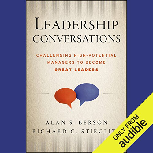 Leadership Conversations audiobook cover art