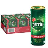 8.45 ounce/250 milliliter sleek Slim Can is ideal for on the go refreshment 30 pack: Provides plenty of sparkling refreshment; Enjoy chilled or mix with cocktails Experience the fresh flavor of strawberry with zero calories and zero sweeteners Our in...