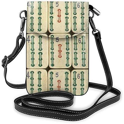 Inner-shop Modische coole China Mahjong Handy kleine Schultern Tasche Crossbody Tasche Smartphone Outdoor Pack