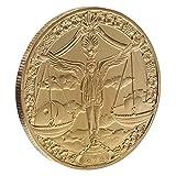 TOYANDONA 12 Souvenirs Coin Colective Zodiac Coin Libro Moneda Conmemorativa Regalo Coleccionable para Regalo de Cumpleaños Juguete