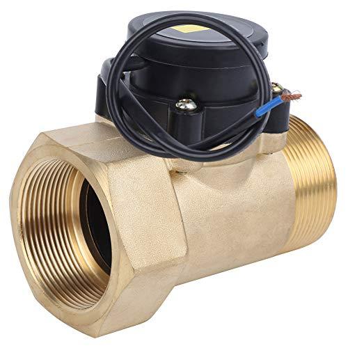 Hochsicherer Wasserdurchflussschalter, 220 V 6A Messing-Wasserdurchflusssensor, automatisch für automatisches Arbeiten