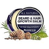Bart und Haarwuchs Balsam | Mit hochkonzentriertem Biotin | Mit dem Duft von Zedernholz, Eukalyptus und Rosmarin | Die beste Lösung für einen ungleichmäßigen Bart