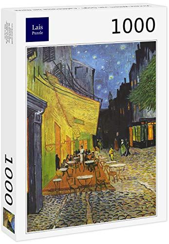 Lais Puzzle Vincent Willem Van Gogh - Terrazza caffè Durante la Notte 1000 Pezzi