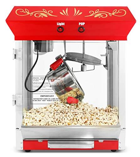 Elite EPM-487 Tabletop Kettle Popcorn Popper, 4 Oz