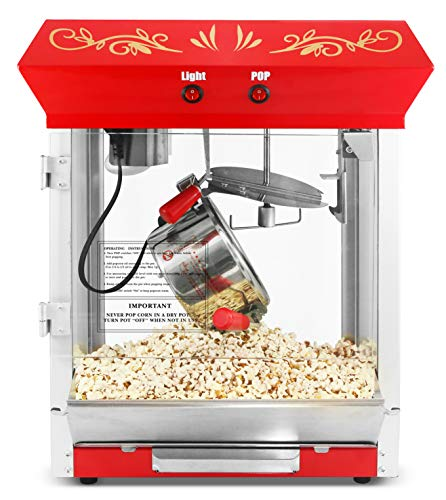 Amazing Deal Elite Gourmet EPM-487 Table Top Popcorn Popper, 4 Oz Kettle