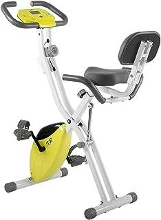 BTM フィットネスバイク エクササイズバイク ルームバイク 折りたたみ 静音 1年安心保証 多段階負荷 筋トレ 省スペース 室内運動 エクササイズ