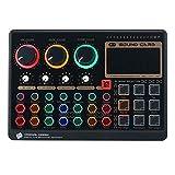 tellaLuna X6Mini Tarjeta de sonido en vivo externa Multifuncional...