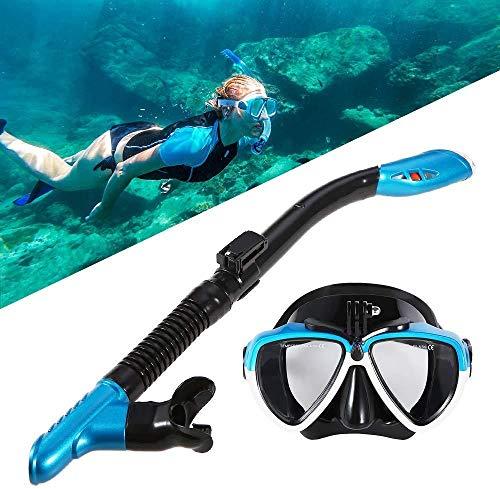 PANXIA Máscara De Buceo En Seco Completo Buceo Snorkel Gafas De Natación Set Hombres Y Mujeres Equipo De Snorkel Gafas Gafas
