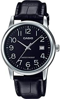 Casio Casual Watch Analog Display Japanese Quartz For Men Mtpv002L-1B Silver
