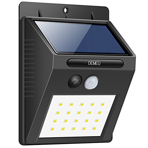 Demeu 20 LED Lights, 2 Packaging, Outdoor Waterproof Lighting, Can be Used for Garden, Fence, Stair, Yard or Driveway. ...