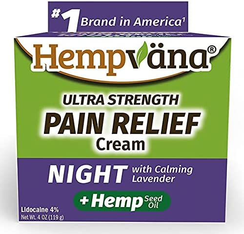 Hempvana As Seen On TV Night Calming Cream Relief Free shipping Lave Pain with Max 74% OFF