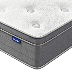 PRESSURE & PAIN RELIEVE -Sweetnight 12 inch queen mattress is designed with hundreds of internal individually wrapped coils and gel memory foam. Adjust independently to ensure support and perfectly contour your body, relieving pressure points along y...