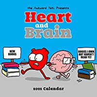 Heart and Brain 2022 Wall Calendar