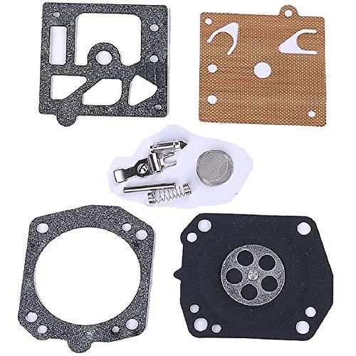 Othmro Kit de reconstrucción de carburador K10-HD para Stihl Husqvarna Jonsered motosierra 039 365 2071 soplador BR320 accesorios para cortacésped herramientas eléctricas al aire libre