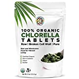 Earth Circle Organics, premium Chlorella tablets, USDA Organic, Kosher, highest...