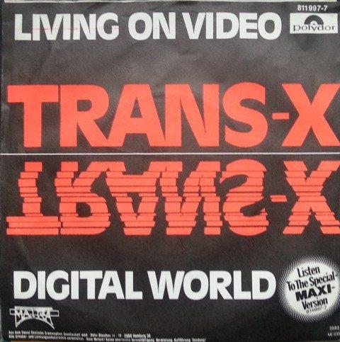 Living on video (1983) / Vinyl single [Vinyl-Single 7'']