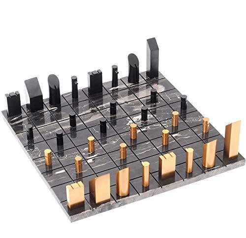 ZOUJUN Mármol de ajedrez, Totalmente Hecho a Mano Original de mármol Junta Juego de ajedrez Juego de ajedrez Juego de Mesa de la Sala de Estar decoración decoración del hogar
