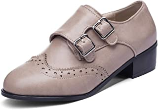 BalaMasa Womens APL12094 Pu Block Heels