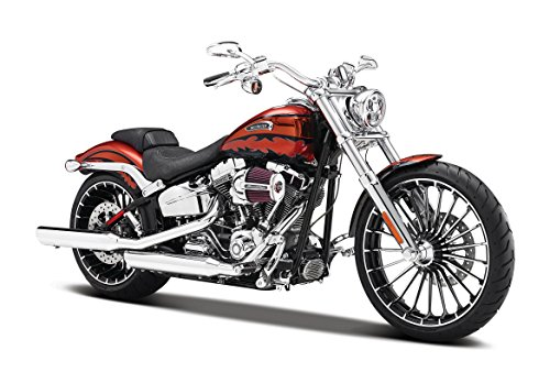 Maisto - 32327 - Moto Miniature - CVO Breakout 14 - Echelle 1/12 - Noir/Rouge