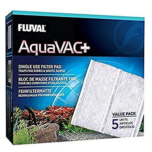 Fluval AquaVac Plus Ersatzfiltervlies, 5er-Pack