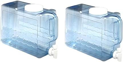 Arrow Plastic 00744 Slimline Beverage Container, 2.5-Gallon - 2 Count