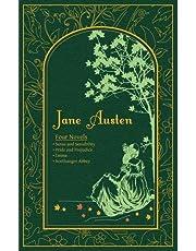Jane Austen: Four Novels - Sense and Sensibility, Pride and Prejudice, Emma, Northanger Abbey