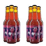 I LOVE LOW - 2.3% vol - BAJO CONTENIDO EN ALCOHOL - 12 x 33cl - Pack cervezas artesanas de estilo Mild Ale