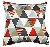 McAlister Textilien Couchkissen Baumwolle 40 x 40 Orange Copenhagen Vita Couchkissen mit Muster...