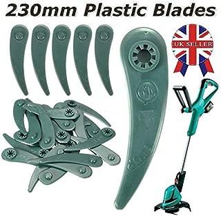HUASHENGXU 10 x Art 23-18 Li Art 26-18 Li Grass Strimmer Trimmer DuraBlade Blades for Bosch