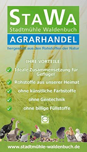 StaWa Weizen, Geflügelfutter, Hühnerfutter, !!Mühlenqualität!! 25 kg GVO – frei - 3