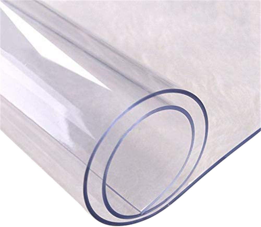 Mantel De PVC Transparente De Varios Tama/ños Mantel Redondo Resistente Al Agua Resistente A Rayones Cubierta De Protecci/ón De Escritorio A Prueba De Aceite Cubierta De Mesa Resis Mantel De PVC Euopat