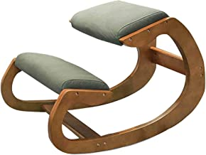 Correction Kneeling Chair Children's Kyphosis Correction Chair Office Computer Simple Chair Wear-Resistant Correction Simp...