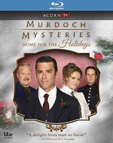 Murdoch Mysteries Home For the Holidays Blu ray product image