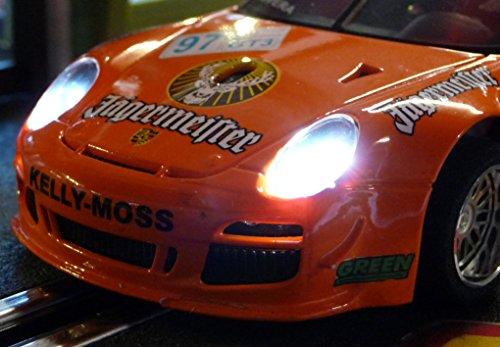 Slotcar LED Beleuchtung XENONWEISS Heck & Front mit STANDLICHT für NSR