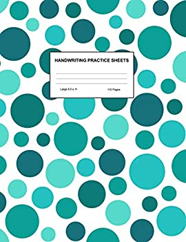 Handwriting Practice Sheets  Cute Blank Lined Paper Notebook for Writing Exercise and Cursive Worksheets - Perfect Workbook for Preschool .. 3rd and 4th Grade Kids - Product Code A4 8275