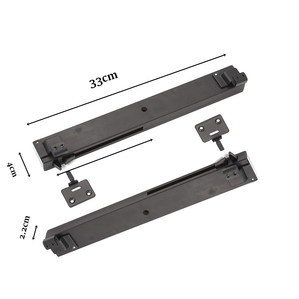 Fácil instalación, 2 amortiguadores de amortiguador de mecanismo de cierre suave para puerta corredera de barniz.: Amazon.es: Bricolaje y herramientas
