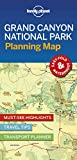 Lonely Planet Grand Canyon National Park Planning Map [Idioma Inglés]
