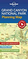 Lonely Planet Grand Canyon National Park Planning Map (Planning Maps)