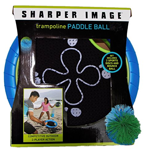 Great Features Of Sharper Image Trampoline Paddle Ball Set
