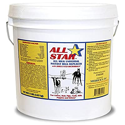 Merrick All Star All Milk Universal Instant Milk Replacer - 8 Pound
