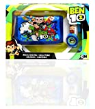 Ben 10- Set Reloj Digital y Billetera En Caja, Multicolor (Kids Euroswan KD-BT17010)