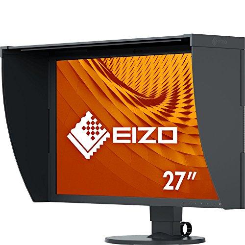 EIZO ColorEdge CG2730 68,5 cm (27 Zoll) Grafik Monitor (DVI-D, HDMI, USB 3.1 Hub, DisplayPort, 13 ms Reaktionszeit, Auflösung 2560 x 1440, Wide Gamut) schwarz
