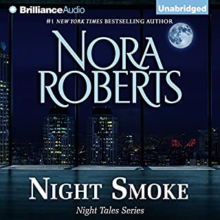 Night Smoke audiobook cover art