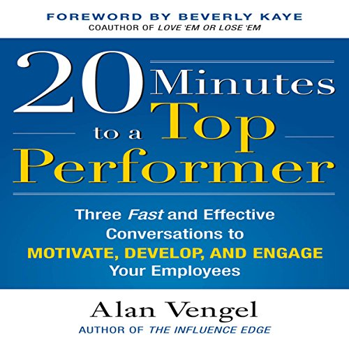20 Minutes to a Top Performer audiobook cover art