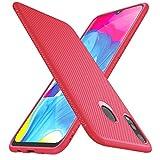 iBetter for Samsung Galaxy M20 Case, Premium Soft Rubber