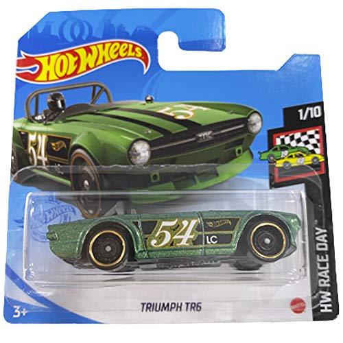 Hot Wheels Triumph TR6 HW Race Day 1/10 2021 (9/250) Short card