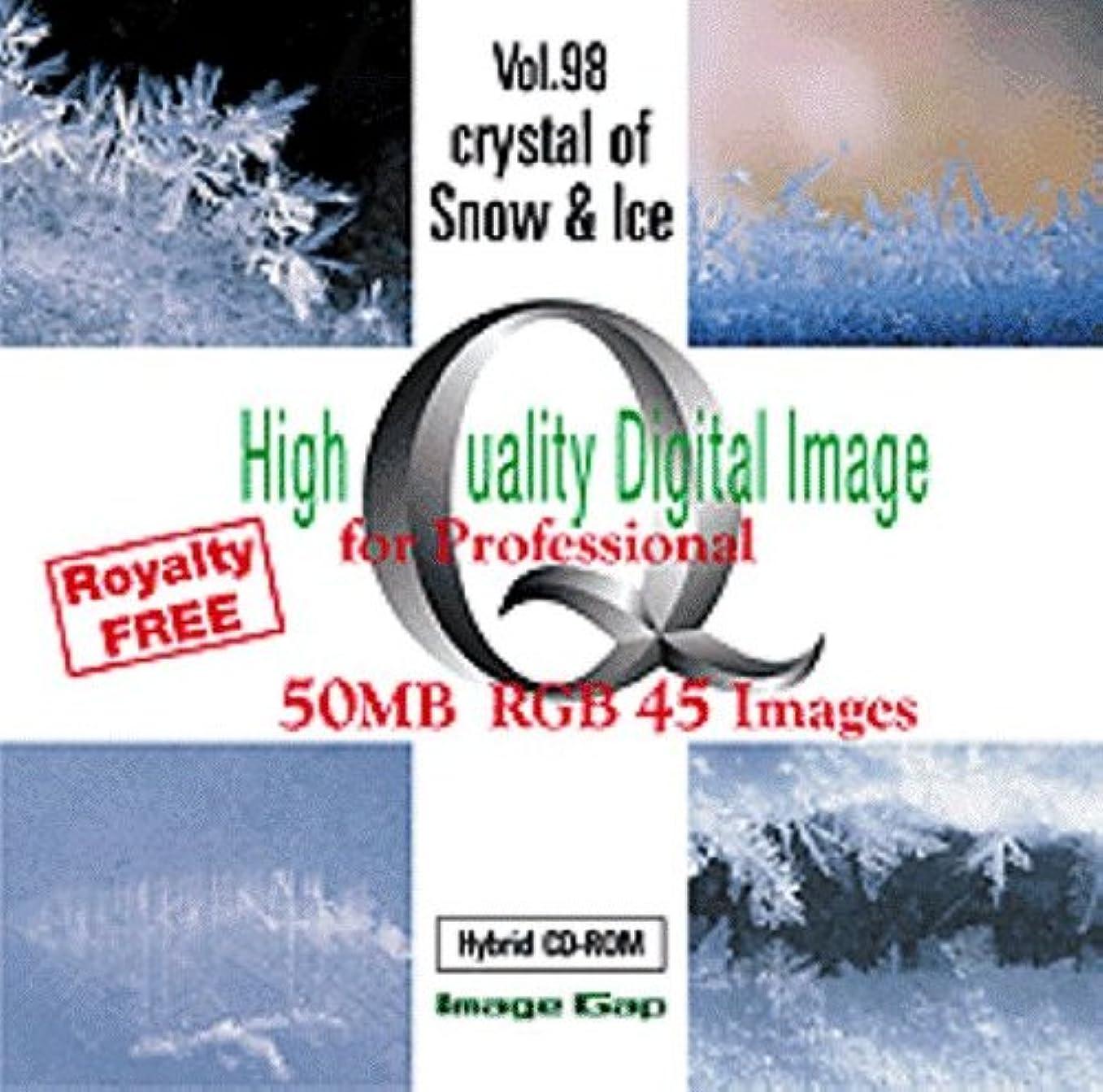 リスク頭初心者High Quality Digital Image Crystal of Snow & Ice